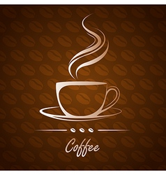 Coffee cup10 vector
