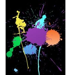 color grunge background vector image