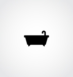 Bathtub Icon vector image