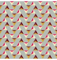 Seamless colorful triangle tiling geometric vector