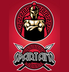 Spartan warrior vector