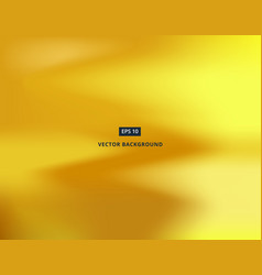 gold wave blurred gradient style background vector image vector image