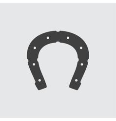 Horseshoe icon vector image