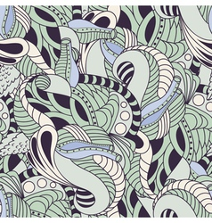 Soft color floral seamless pattern vector