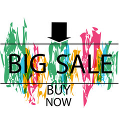 super sale banner sale and discounts vector image