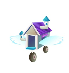 Icon moving shop vector