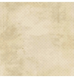 Vintage background with grunge texture and polka vector