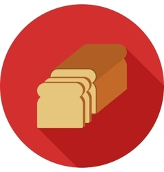 Sliced bread vector