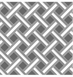 Geometrical pattern with gray beveled lattice vector