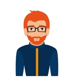 Man guy boy person glasses vector