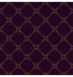 Seamless abstract vintage purple pattern vector image vector image