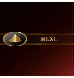 Menu background vector