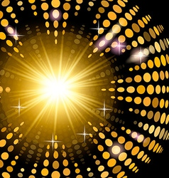 Version disco background with light effects vector