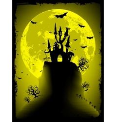 Spooky halloween vector