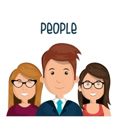 People group design vector