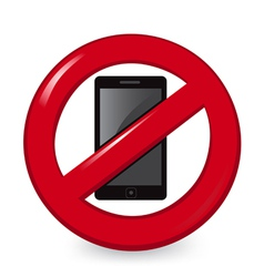 No phones vector