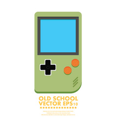 Old gadget flat icon eps10 vector