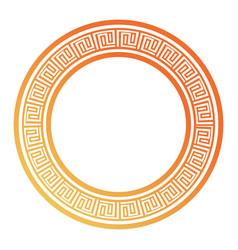 Round ethnic frame desi vector