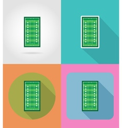 sport flat icons 50 vector image vector image