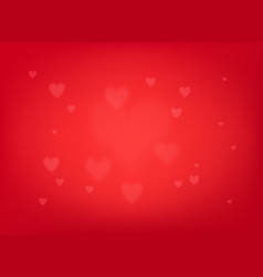 a valentines day background vector image