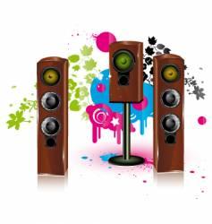 Speaker background vector