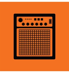 Audio monitor icon vector