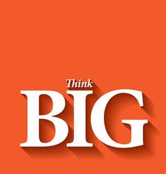 Minimalistic typographic motivational quote vector