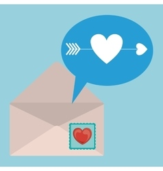 Love letter design vector
