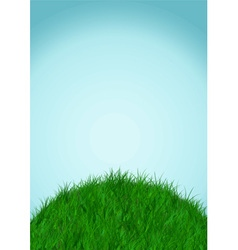 Sky and ground background vector
