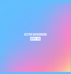 blue pink yellow blur gradient vector image