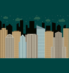 city2-30 vector image vector image