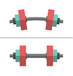 Dumbbells normal and bent vector