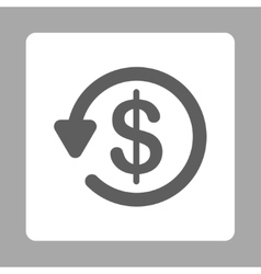 Refund icon vector