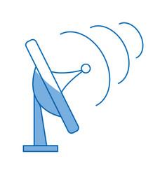 Satellite communication technology wireless signal vector