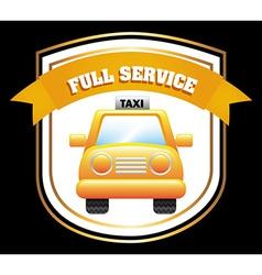 taxi design vector image