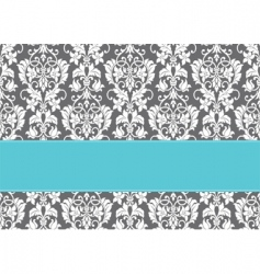 Floral pattern and border vector