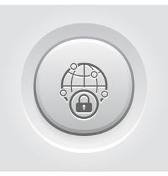 Security point icon vector