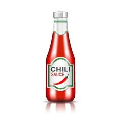 Chili sauce vector