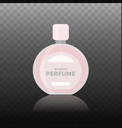 flat icon of women perfume vector image vector image