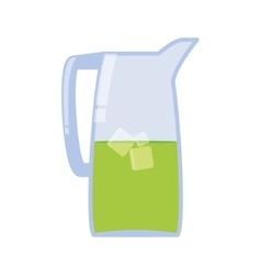 Jar icon tea drink design graphic vector