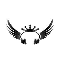 King DJ vector image