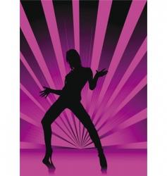 violet spectrum vector image vector image