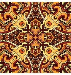 Abstract ethnic indian autumn seamless pattern vector