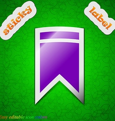Web stickers tags and banners sale icon sign vector