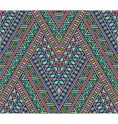 Bright ethnic seamless pattern vector