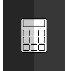 calculator maths finance vector image