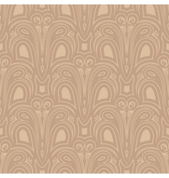 old style seamless background vector image vector image