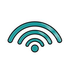 Wifi sign icon vector