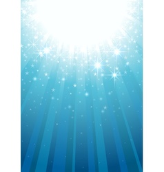 Magic light rays vector