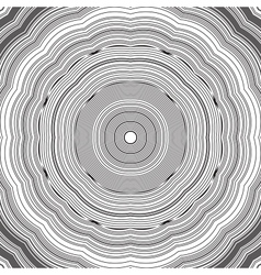 Black and white abstract psychedelic background vector